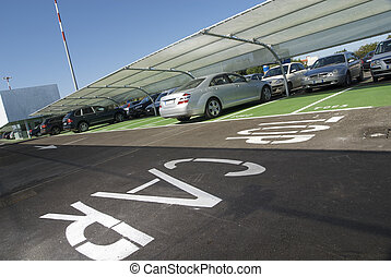 Toll Parking area