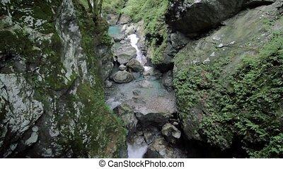 Tolmin gorge, Slovenia