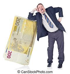 tolo, banqueiro, confiar, euro