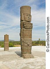 toltec, piramid, farag