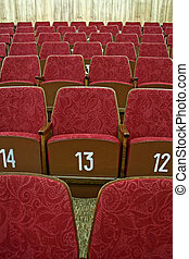 tom, bio, sittplatser