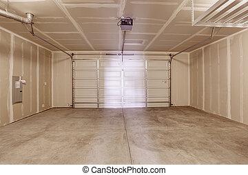 tom, garage, inre