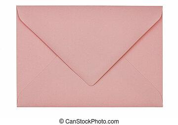 tom, kuvert