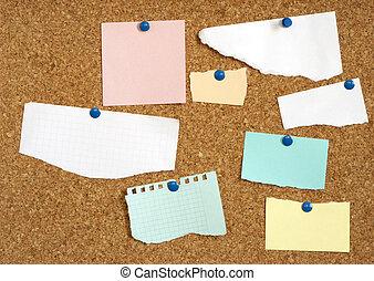 tom, papper, blanks, för, din, text, eller, design