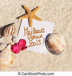 tom, papper, strand sandpappra, sjöstjärna, skalen, sommar
