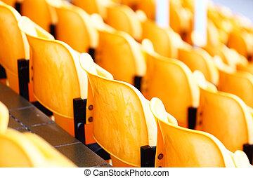 tom, stadion, säte