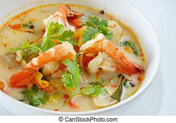 Tom Yum Goong is favorite Thai Food