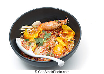 Tom Yum Kung Noodle, popular Thai dish cuisine