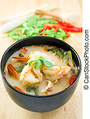 Tom Yum Kung, Spicy thai traditional soup