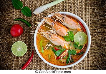 Tom Yum kung - Tom yam kung or Tom yum, Tom yam is a spicy...