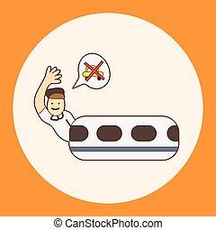 toma, el, transporte público