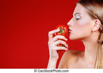 tomaat, fris