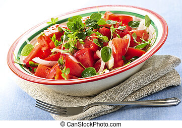 tomaat, slaatje