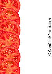 tomaat, snede