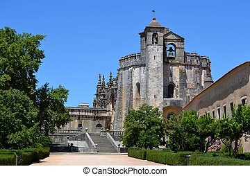 Tomar castle in Portugal