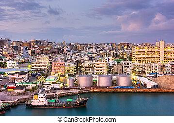 Tomari Port, Naha, Okinawa, Japan