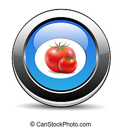tomate, ícone