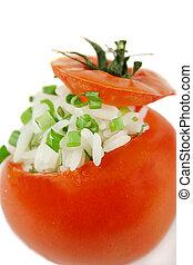 tomate, 2, enchido