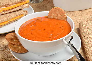 tomate, bisque