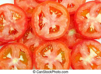tomate, couper