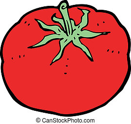 Tomate dessin anim tomate yeux grand illustration clipart vectoriel rechercher - Tomate dessin ...