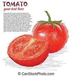 tomate, fruta