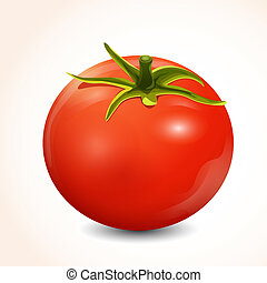 tomate, isolé