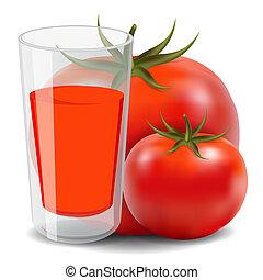 tomate, jus