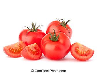 tomate, legumes, pilha