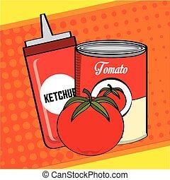 tomate, produit