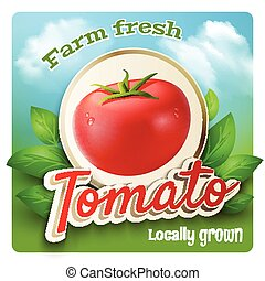 tomate, promo, cartel