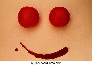tomate, sorrizo, 2