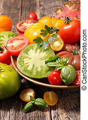 tomate, variedade