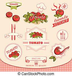 tomate, vegetales