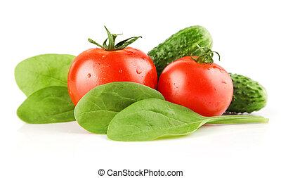 tomate, verduras frescas