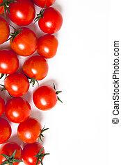 tomates, fundo
