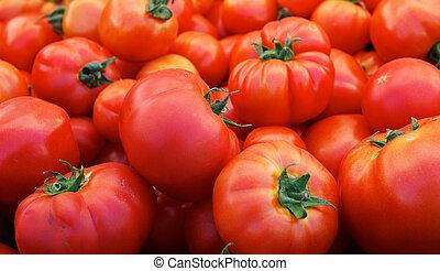 tomates, mercado