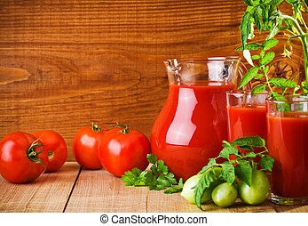 tomates, nutrition