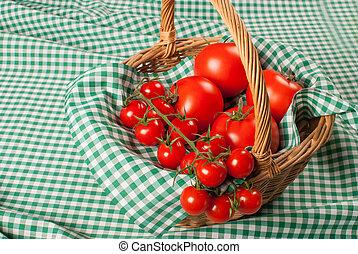 tomates, sortido