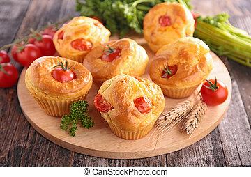 tomato cake appetizer
