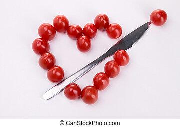 tomato heart shape
