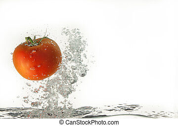 Tomato In The Water