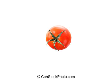 Tomato isolated in white background