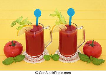 Tomato Juice Drinks