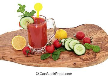 Tomato Juice Health Drink