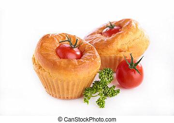 tomato muffin