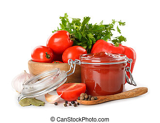tomato sauce - Tomato sauce, fresh vegetables and spices...