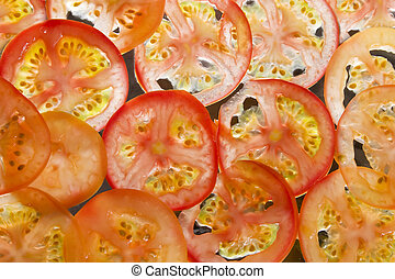 Tomato Slice Background