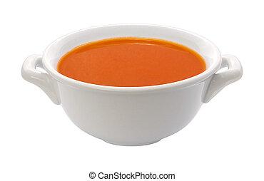 Tomato Soup Bowl (clipping path)