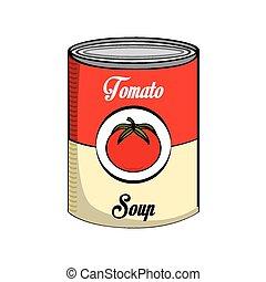 tomato soup design, vector illustration eps10 graphic